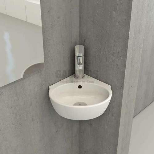 Bocchi ъглова супер компактна мивка 21.5x21.5см