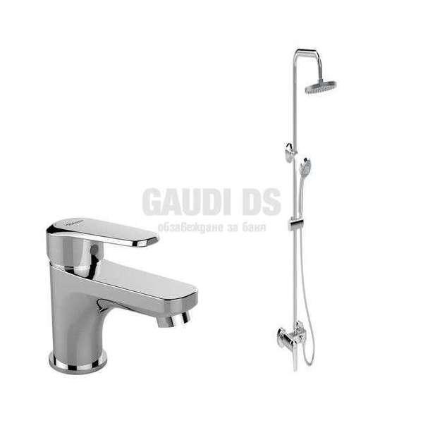 Vidima - Комплект SevaL, душ система и смесител за мивка B2190AA