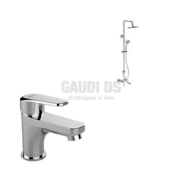 Vidima - Комплект SevaL, душ система за вана/душ и смесител за мивка B2191AA