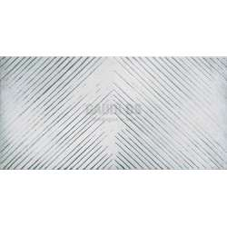 Декор Lucan Grey 25x50