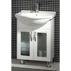 Долен PVC шкаф Mizia Mini 60 см с порцеланова мивка gds_pvc_ICP085/60
