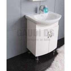 Долен PVC шкаф Yantra 65 см с порцеланова мивка gds_pvc_ICP065
