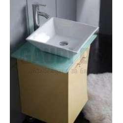 Долен PVC шкаф 55 см с порцеланова мивка ЖЪЛТ? 1