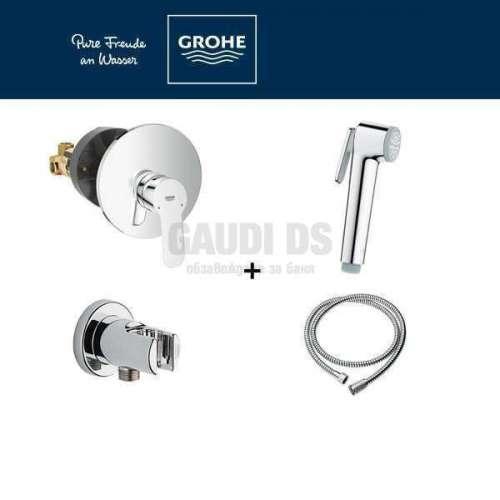 GROHE BAU EDGE Комплект за интимен душ