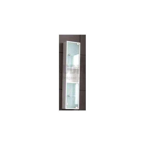 Колона PVC бяла, стъклени вратички gds_pvc_ICP604685-3