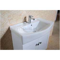 Долен PVC шкаф Adela 80 см с мивка, стоящ ,бял 2