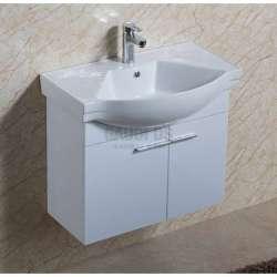 Долен PVC шкаф 70,5 см с мивка, конзолен, бял gds_pvc_ICP7054