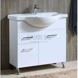 Долен PVC шкаф Leone 85,2 см с порцеланова мивка gds_pvc_ICP8549