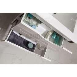 Долен PVC шкаф Evan 60 см с мивка, конзолен, бял 2