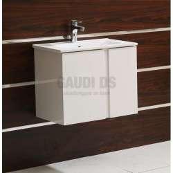Долен PVC шкаф Avalon 61 см с мивка, конзолен, бял gds_pvc_ICP6089