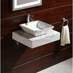 Плот PVC 60 см за мивка, конзолен, бял gds_pvc_ICP6012W