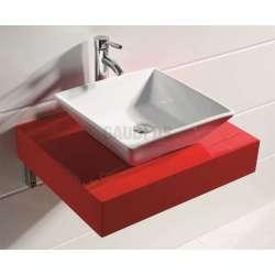 Плот PVC 60 см за мивка, конзолен, червен gds_pvc_ICP 6012R
