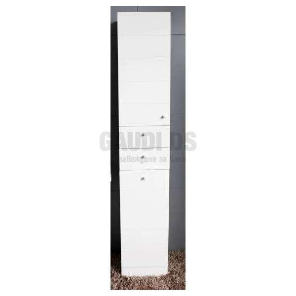 Колона PVC бяла, стояща 35х30х192 см gds_pvc_ICP002