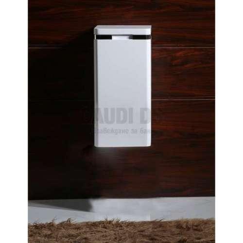 Колона PVC бяла, конзолна 30х30х60 см