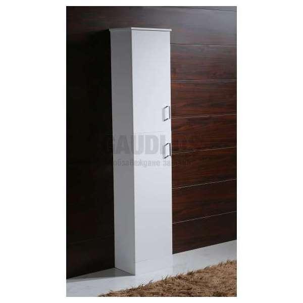 Колона PVC бяла, свободно стояща 35х30х192 см gds_pvc_ICP3530