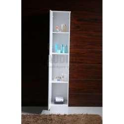 Колона PVC бяла, свободно стояща 35х30х192 см 2