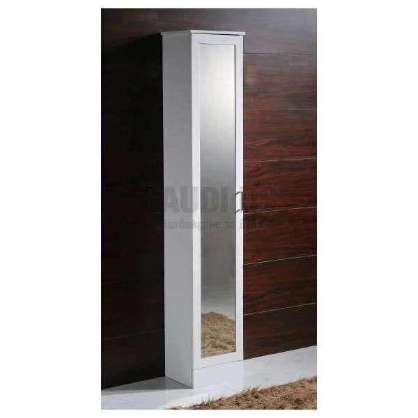 Огледална колона PVC бяла, свободно стояща 35х30х192 см gds_pvc_ICP3530-2