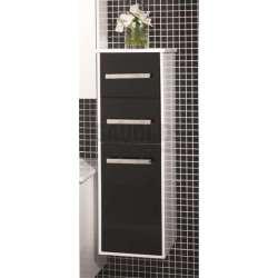 Колона PVC конзолна 29х33х91 см, с кош за пране, черна gds_pvc_ICP904650COLUMN