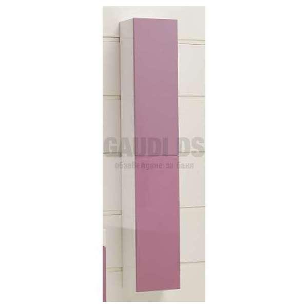 Колона PVC конзолна 25х18х140 см, лилава gds_pvc_ICP2518PURPLE