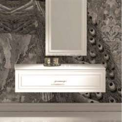 Долен шкаф-чекмедже 100 см бял iStone gds_ICC10026
