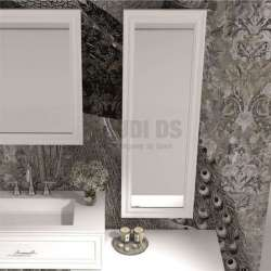 Огледало за баня с рамка iStone 130х50 см gds_ICM7205