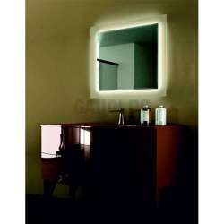 Огледало за баня с вградено LED осветление 100х100см gds_ICL1803-100