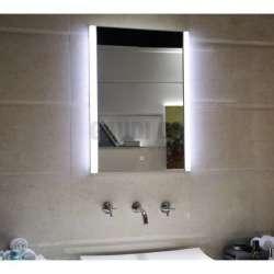Огледало за баня Lucita с LED осветление, touch screen 50х70см gds_ICL1499