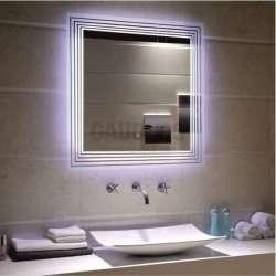 Огледало за баня с LED осветление, touch screen 80х80см gds_ICL1496