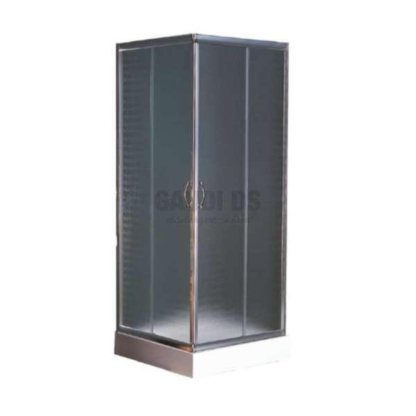 Квадратна душ кабина комплект 90х90 - мат gds_ICS 8516P