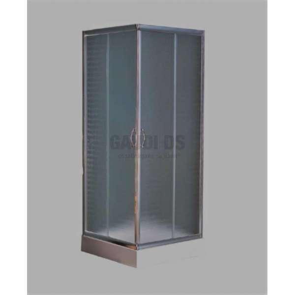 Квадратна душ кабина комплект 80х80 - мат gds_ICS 8516P/80