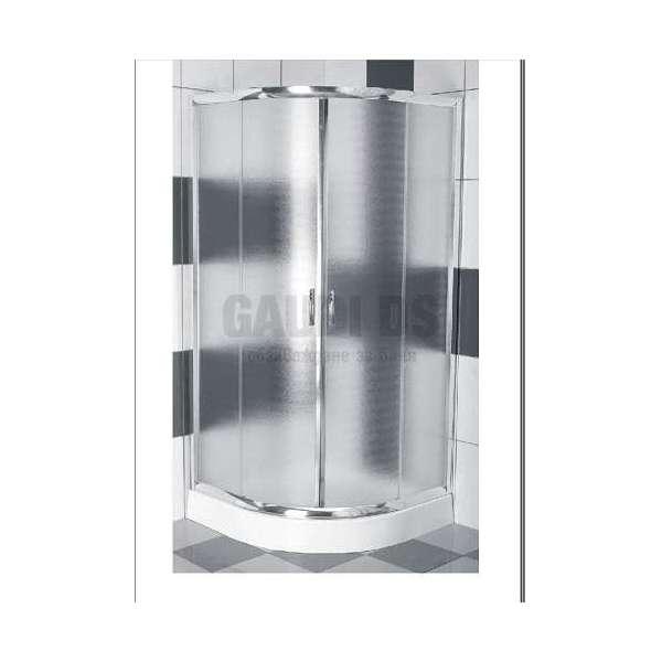 Овална душ кабина комплект 90х90 - мат gds_ICS 107P