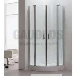Овална душ кабина Velvet комплект 90х90 - прозрачно стъкло gds_ICS 170TR