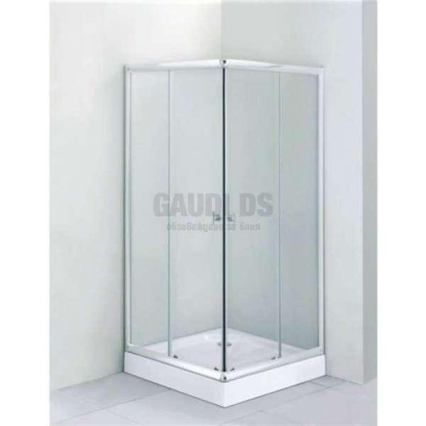 Квадратна душ кабина комплект 90х90 - прозрачно стъкло gds_ICS 275TC