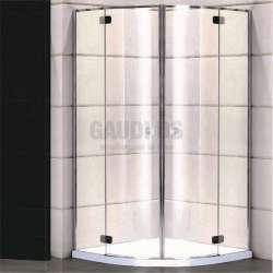 Овална душ кабина Alegra 90х90 - прозрачно стъкло gds_ICS 3290