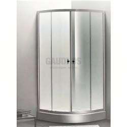 Овална душ кабина Autumn комплект 90х90 - прозрачно стъкло gds_ICS 285TC
