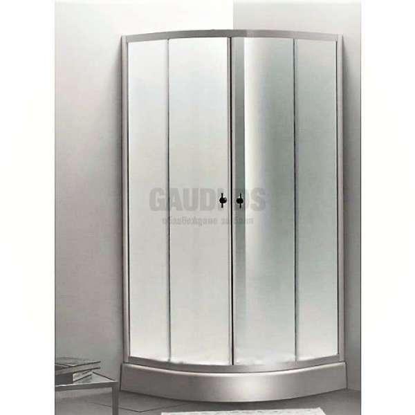 Овална душ кабина Autumn комплект 80х80 - прозрачно стъкло gds_ICS 285TC/80