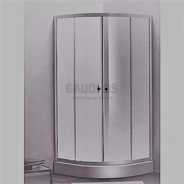 Овална душ кабина Spring комплект 90х90 - прозрачно стъкло gds_ICS 285TS