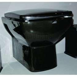 Конзолна тоалетна чиния със седалка 53.2 см, черна gds_ICC 5336B