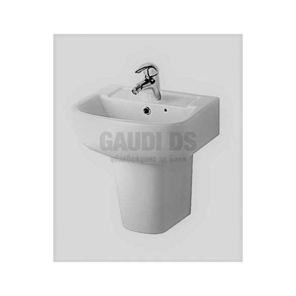 Мивка с полуконзола 45х33,2 см, бяла gds_ICB 4533W