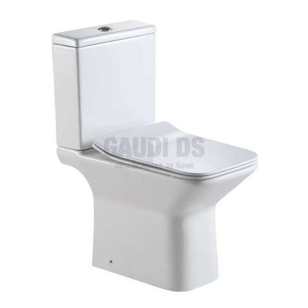 Порцеланов моноблок 61х36,5х78,5 см, бял, RIMLESS gds_ICC 7737