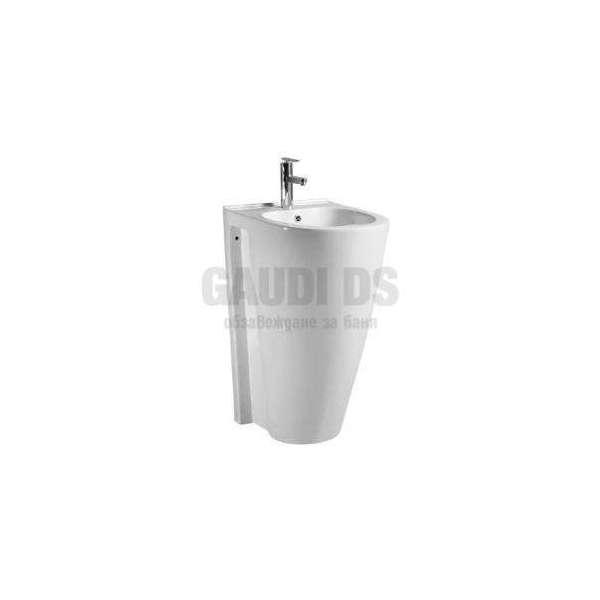 Монолитна порцеланова мивка 45 см, бяла gds_ICC 5446