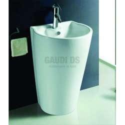 Масивна порцеланова мивка 58 см, бяла gds_ICB 5881