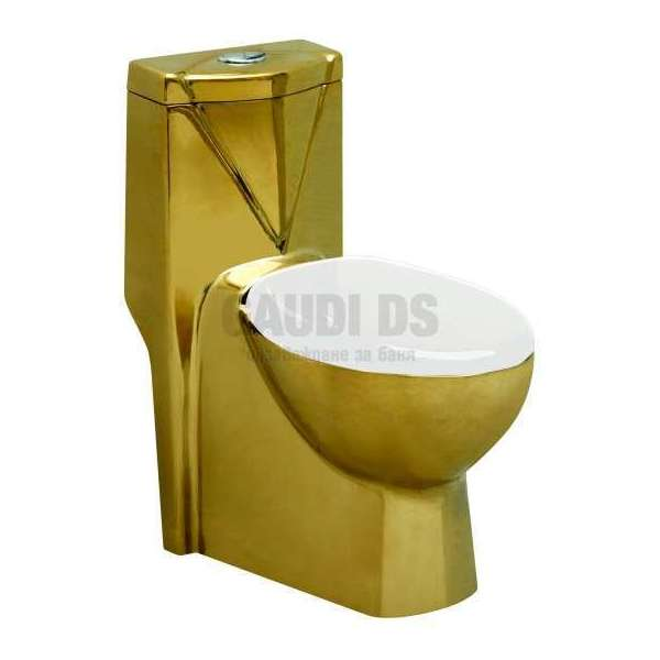 Порцеланов моноблок 70х39х77см, злато gds_ICC 2078GOLD