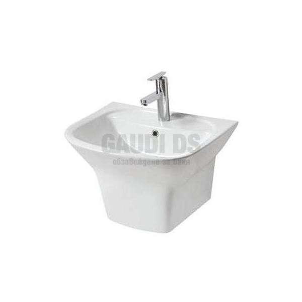 Порцеланова мивка с полуконзола 56х45 см gds_ICC 5651
