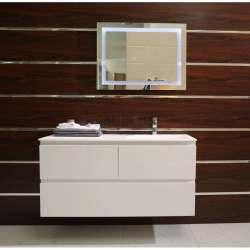 Долен шкаф PVC 120 см и мивка iStone с вграден сифон gds_ICP 12038 L/R