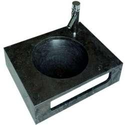 Плот-мивка 60х47х12 см от варовик, тъмно синя gds_ICL 4712BL