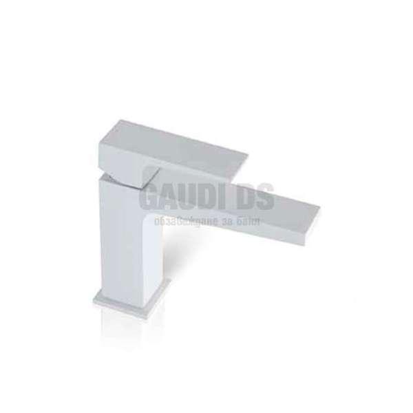 Alpi Una смесител за мивка, бял мат UN 18176/S BL