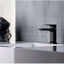 Alpi Una смесител за мивка, черен мат