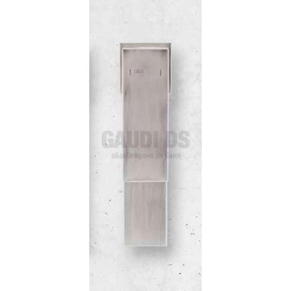 Alpi Una висок смесител за мивка, драскан никел UN 18177/S NK