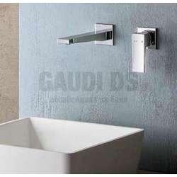 Alpi Una стенен смесител за мивка, хром 2
